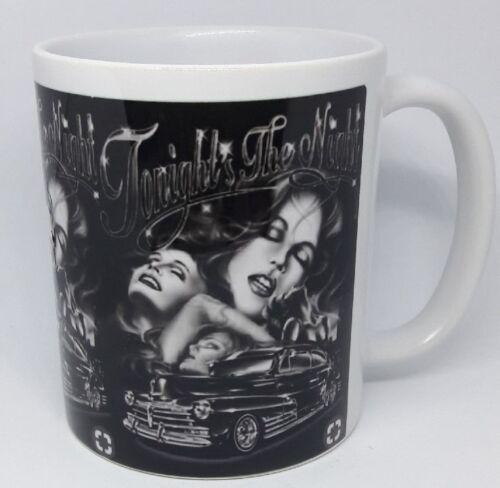 CHICANO ART /'Tonight is the Night/' Coffee Mug