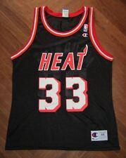 ALONZO MOURNING MIAMI HEAT NBA Jersey Trikot canotta maglia basket maillot RICE