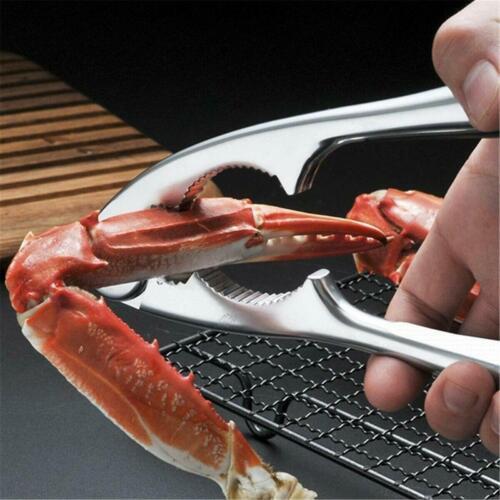 12Pcs Crab Crackers Nut Cracker Forks Set Opener Shellfish Seafood Tools Set