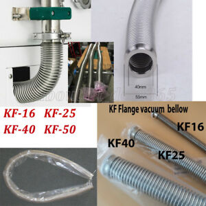 31Typle-KF16-25-40-50-Bellows-Hose-Flange-Flexible-Vacuum-Pipe-Tube-Corrugated