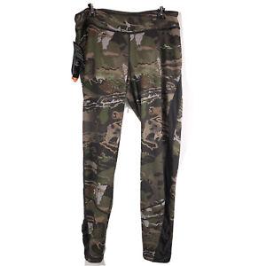aumento sabor dulce Terapia  Nueva Under Armour Cold Gear reactor mediados temporada Leggings Pantalón  Camo Mujer XL Equipada | eBay