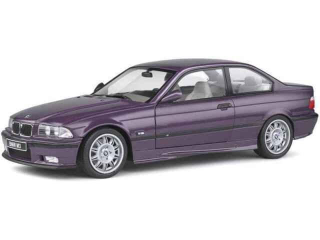 Solido S1803905 Bmw E36 M3 Coupe Technoviolet 1990 Voiture Miniature Achetez Sur Ebay