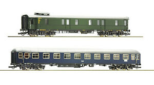 Roco-H0-74098-Wagon-Train-Set-DB-034-Novelty-2019-1-87-New-Boxed