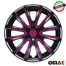 16 Inch Hubcaps Wheel Rim Cover Black Violet For Toyota Tundra 4pcs Set Fits 2004 Toyota Tundra