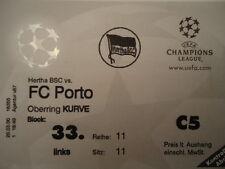 TICKET UEFA CL 1999/00 Hertha BSC Berlin - FC Porto