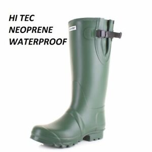 About Hi Waterproof Boots Mens Festival Wellies Size Neoprene Wellingtons Tec Details Mucker dQrxBthsC