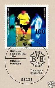 BRD-1996-Dortmund-Meister-Nr-1879-mit-Bonner-Ersttags-Sonderstempel-1A-1712