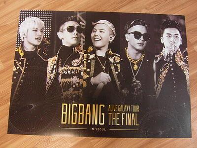BIGBANG - 2013 ALIVE GALAXY TOUR LIVE [ORIGINAL POSTER] K-POP *NEW*