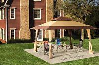 Waterproof 13' X 13' Outdoor Garden Canopy Gazebo Double Roof Patio Party Tent on sale