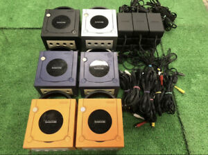 Nintendo-GameCube-Console-Only-Various-colors-JAPAN