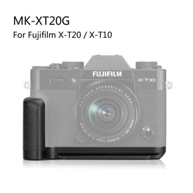 For Fujifilm Fuji X-T10 X-T20 Quick Release Vertical L Plate Bracket Hand Grip