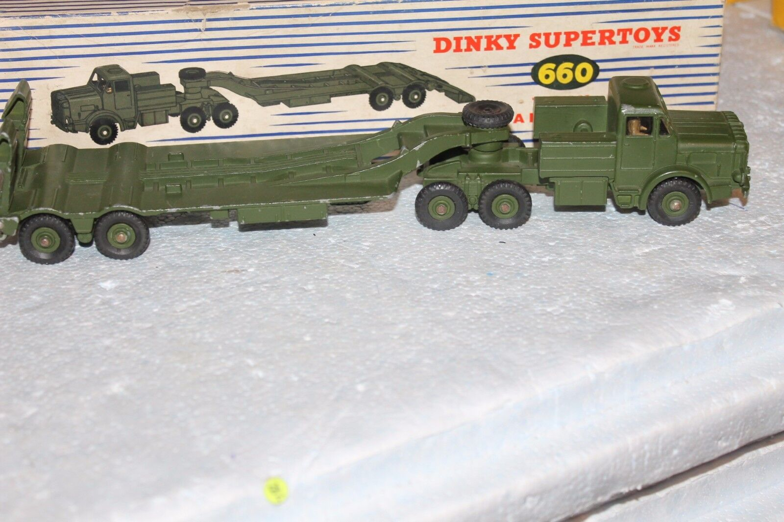 MILITARY DINKY  TANK TRANSPORTER  660 VEHICLE