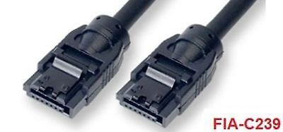 39 inch Super Fast SATA-III Flat Cable with 90° to 180° Connectors FIA-C339
