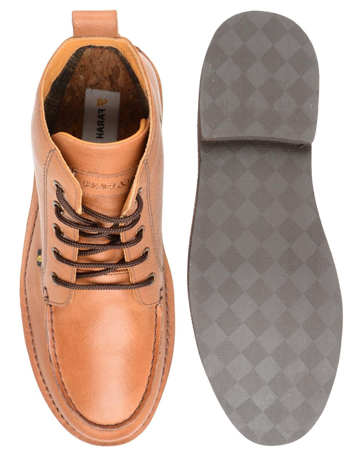 Farah Vintage Osten Leder Wüstenstiefel Wüstenstiefel Wüstenstiefel  Herren-Tan Freizeitschuhe Stiefel c00f8d