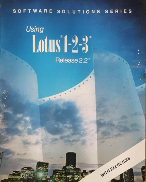 Using Lotus 1-2-3 Release 2.2, Software Solutions Series (Paperback 1991)