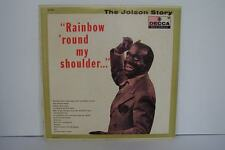 Al Jolson - The Jolson Story - Rainbow 'Round My Shoulder Vinyl LP Record Album
