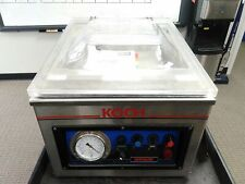 Defective Koch Uv250 Ultravac Commercial Vacuum Sealer As Is For Parts