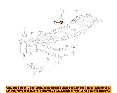 GM OEM Frame-Cushion Left 25857633