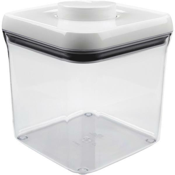4-Oxo Good Grips 2.4 Qt. Clear Rectangle Food Storage Container With Lid 1071399