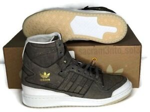 best sneakers 1dd37 33fc5 Image is loading Adidas-Forum-REAL-LEATHER-HI-Crafted-Pack-Men-