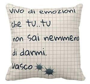 Cuscino Vasco Rossi 2