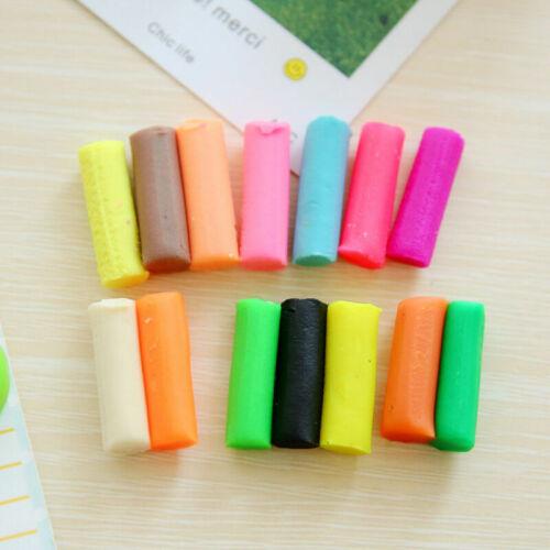 8//12//14 farben DIY Plastilin Ton Luft Trocknen Spielzeug T Modellierung Wei I4Z1