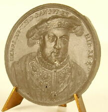 Médaille Henri HENRY VIII HENRICUS . D . G . ANG . FR . ET sc Jean Dassier medal