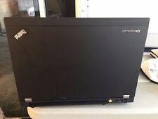BLACK Vinyl Lid Skin Cover Decal fits IBM Lenovo Thinkpad T430 Laptop