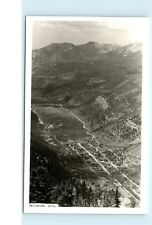 Ariel View Telluride Colorado CO Town View RPPC Vintage Real Photo Postcard B01
