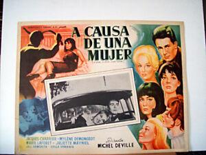 A-CAUSE-D-UNE-FEMME-JACQUES-CHARRIER-1963-OPTIONAL-SET-ME