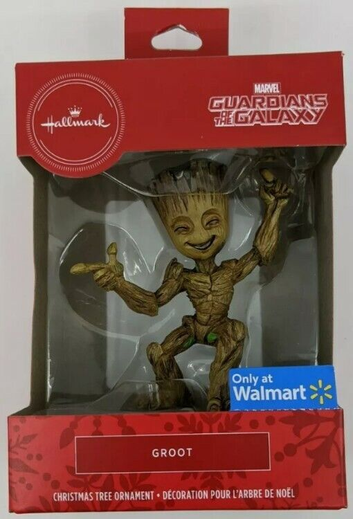 Guardians of the Galaxy Groot ornaments and coasters