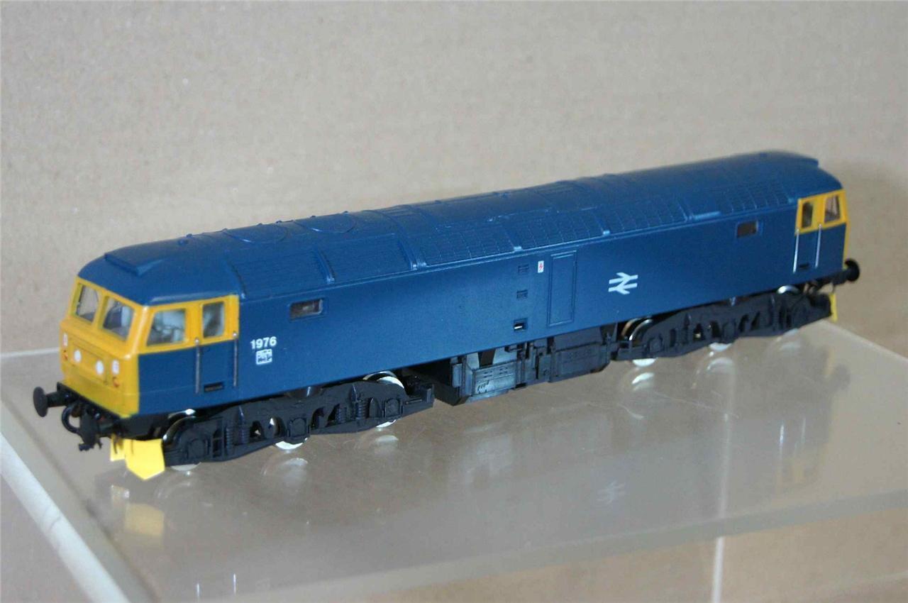 Hornby R287 Set Gebaut Br blue Klasse 47 Diesel Lokomotive 1976 Ungebraucht Mw
