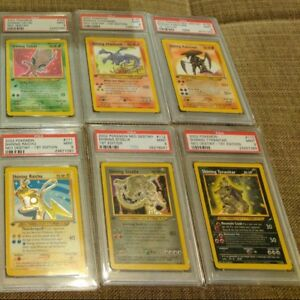 OLD-Vintage-Pokemon-3-Cards-1ST-EDITION-Lot-Rare-Holo-Shining-WOTC-976-1000