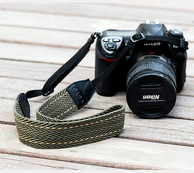 DSLR SLR Digital Camera Shoulder Neck Straps Belt Canon Nikon Sony Pentax Lecia
