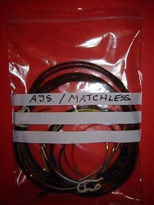 s l300 ajs matchless twins mag dyno g9 g11 g12 model 20 30 to 1960 wiring aj wiring harness mazda at bayanpartner.co