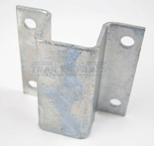 "-Boat Trailer 2/"" Hot Dipped Galvanized Hat Bracket 3//16/"" Thick Bunk Support 2"