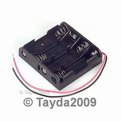 5 PCS 4 x AA Battery Holder - FREE SHIPPING - HIGH QUALITY