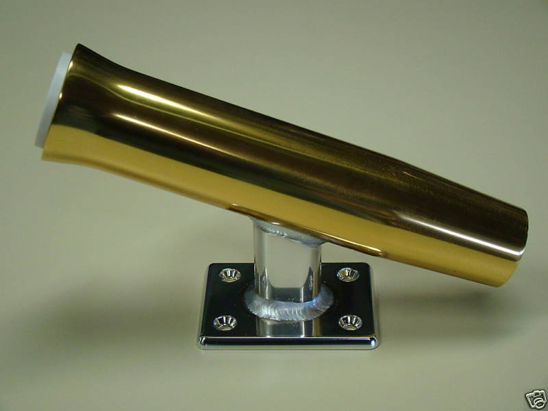 Single oro Rod Holder  Transom  Wall Mounted