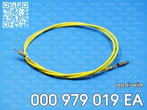 0,5 qmm 1 Stück Original VW//SEAT//SKODA//AUDI Reparaturleitung 000 979 018