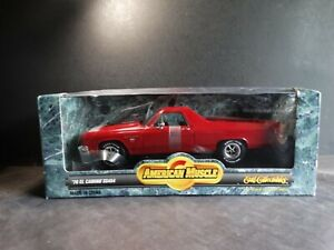 Ertl-American-Muscle-1970-Chevy-El-Camino-1-18-Scale-Diecast-Model-Car-Red