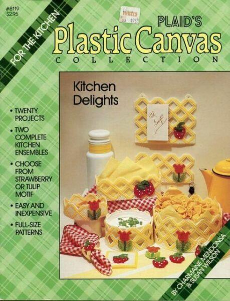 Kitchen Delights 1986 Plaid Enterp Pattern Leaflet #8119