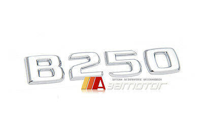 Mercedes-Benz B-Class W246 Trunk Lid Rear Letter Emblem Badge Letters B250 B 250