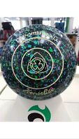 Colour Henselite Dreamline Xg Mystic Speckled Lawn Bowls