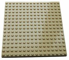 "LEGO Large Plate 16x16 5""x5"" TAN Flat Base 16 x 16 baseplate sand star wars"