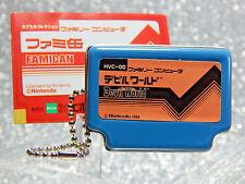 Nintendo Figure - 2006 Devil World Famican - Epoch NES Famicom Keychain Promo