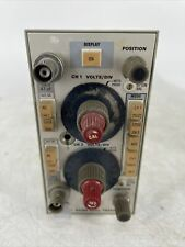 Vintage Tektronix 5a18n Dual Trace Amplifier Parts Or Repair
