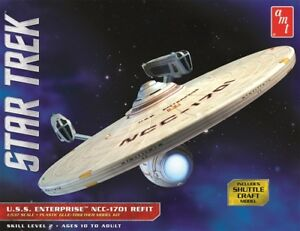 AMT-Star-Trek-USS-Enterprise-NCC-1701-Refit-1-537-scale-model-kit-new-1080