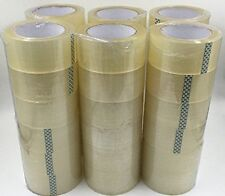 Packing Tape 36 Rolls 2 X 110 Yards 330 Ft Box Carton Sealing Clear