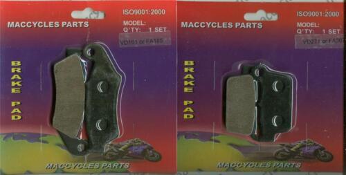 2 sets Gas Gas Disc Brake Pads EC300 2012-2014 Front /& Rear