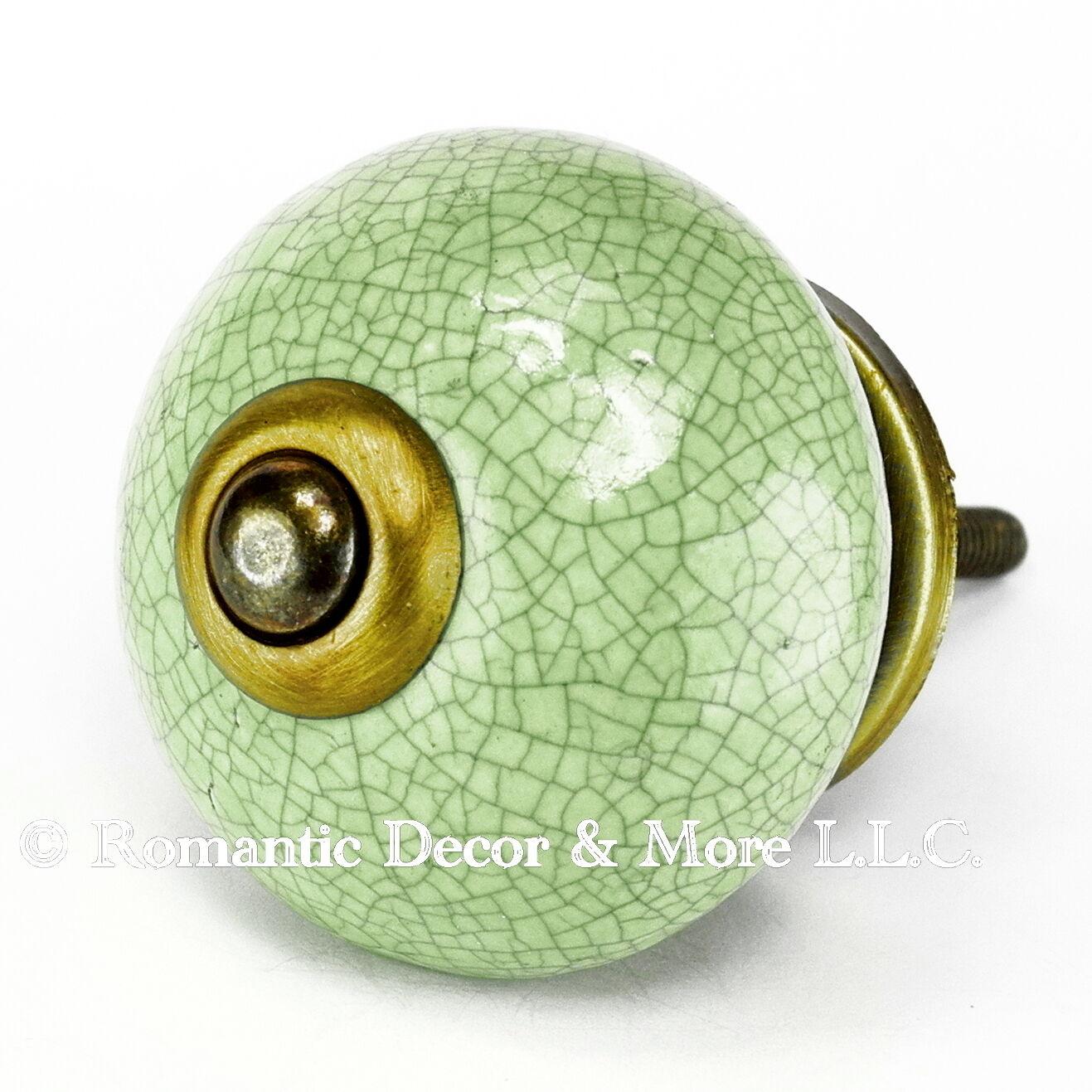 Door Handles for Cabinets, Vintage Furniture Pulls or Antique Brass Pull  C123RR